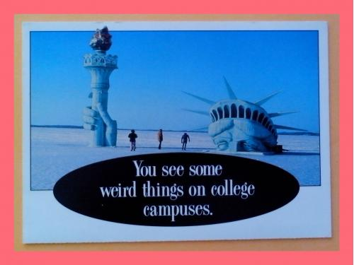 Почтовая  открытка  США «University  of  Wisconsin, Madison».