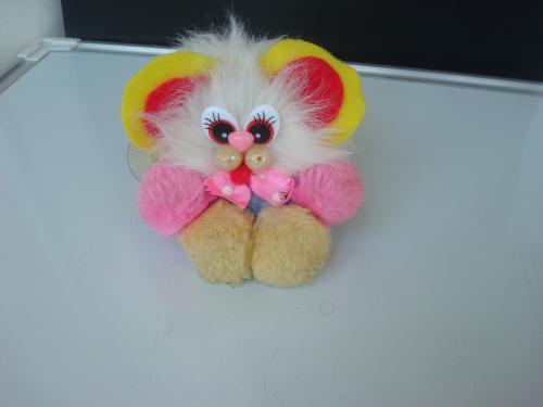 Мягкая игрушка Мышка подвеска в машину на присоске