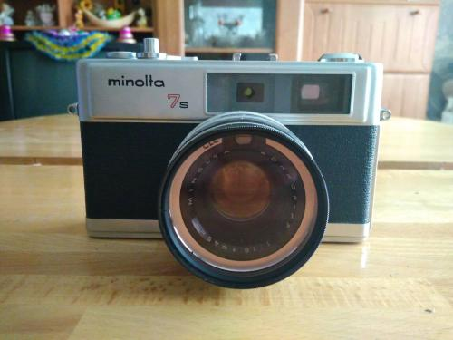 Фотоапарат Minolta Hi-Matic 7s (1966p.)