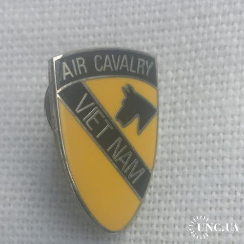 значек  1-й аэромобильной  Кавалерийской дивизии армии США