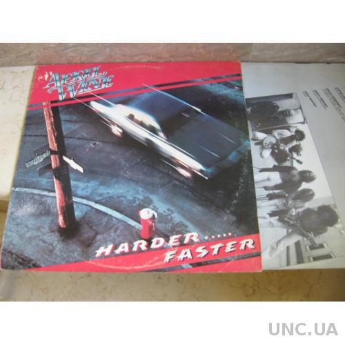 April Wine – Harder     Faster (USA) LP купить на | Аукцион для  коллекционеров UNC UA