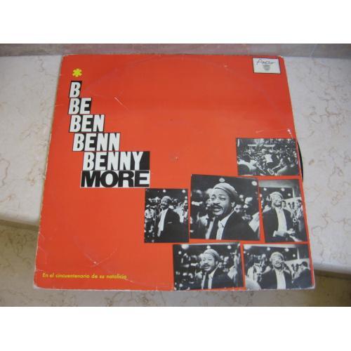 Benny More – En El Cincuentenario De Su Natalicio ( Cuba ) Mambo, Bolero, Son LP