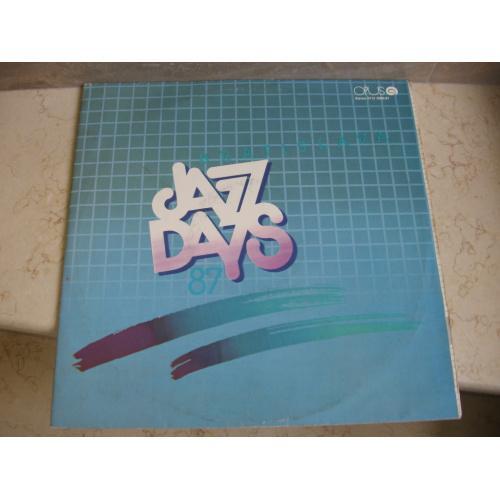 Bratislava Jazz Days '87 (2xLP)  ( Czechoslovakia ) JAZZ  LP
