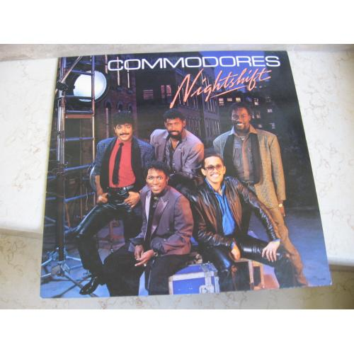 Commodores ‎– Nightshift   ( USA )   Funk / Soul    LP