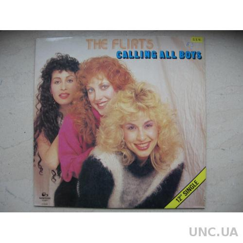 Flirts : Calling all boys ITALO DISCO ( Germany )