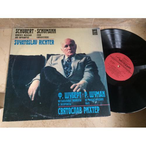 Franz Schubert, Robert Schumann, Sviatoslav Richter – Moments Musicaux, Impromtus, From Fantasiestucke