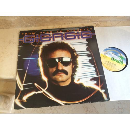 Giorgio Moroder – From Here To Eternity  ( made in Germany Oasis – 25 087 OT ) LP