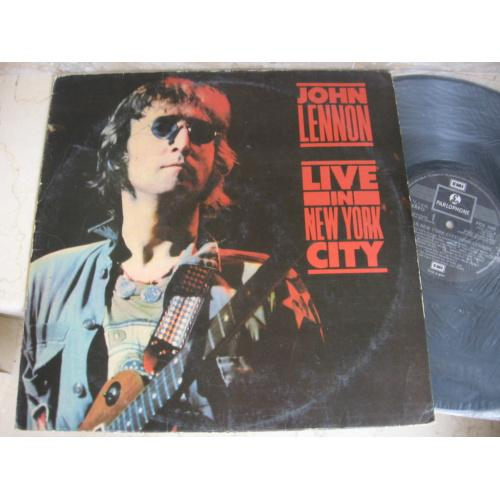 John Lennon ‎– Live In New York City ( India ( UK) ) LP