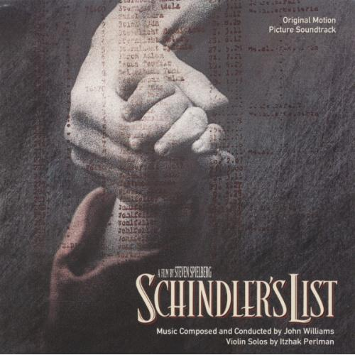 John Williams – Schindler's List (Music From  Original Motion Picture Soundtrack) ( Made in Germany