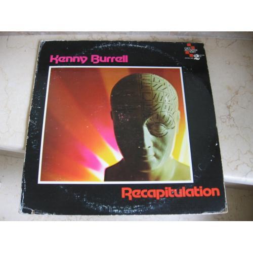 Kenny Burrell – Recapitulation  : (2x-LP)( USA ) JAZZ  LP