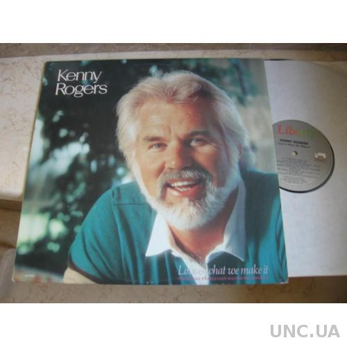 Kenny Rogers ‎– Love Is What We Make It (Canada)    LP