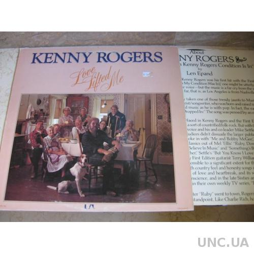 Kenny Rogers ‎– Love Lifted Me  ( USA) LP