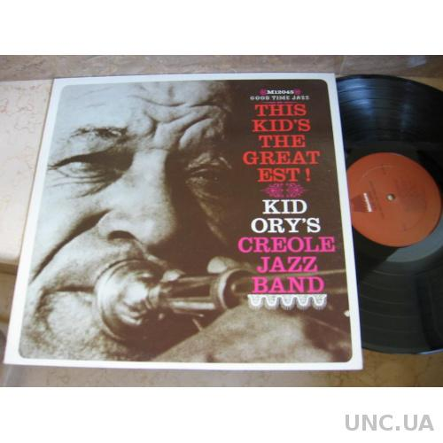 Kid Ory's Creole Jazz Band ‎– This Kid's The Greatest! (USA)  JAZZ  LP