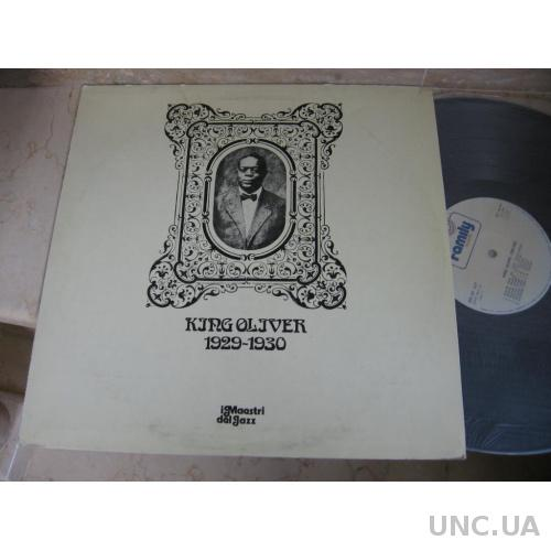 King Oliver : 1929-1930 (Italy) JAZZ LP