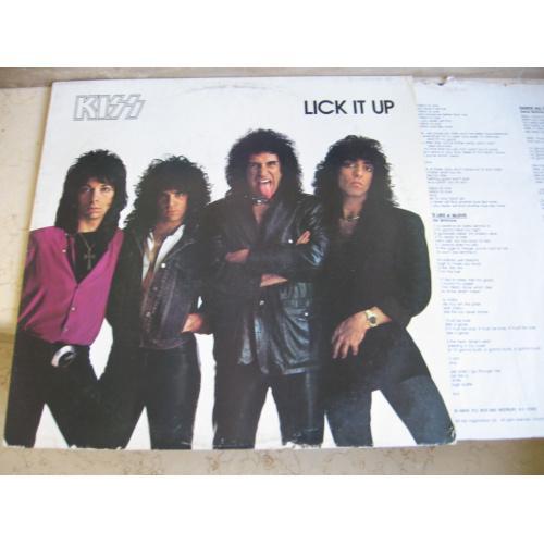 Kiss – Lick It Up  ( USA ) LP
