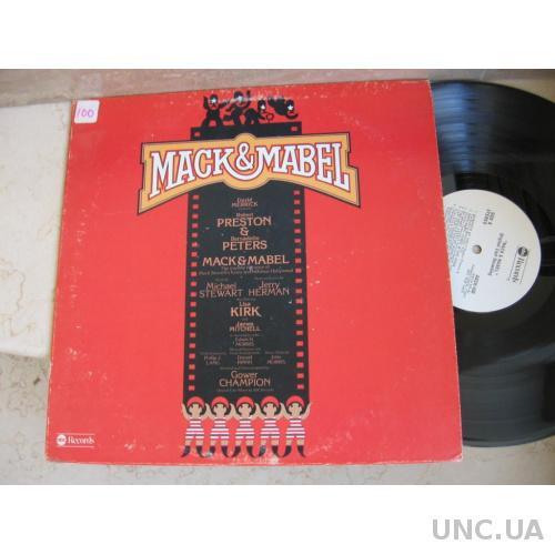 Mack & Mabel   (USA)    LP