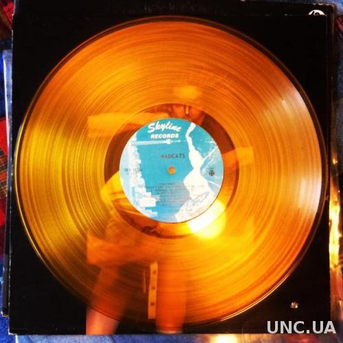 Madcats (Canada) Gold Translucent LP