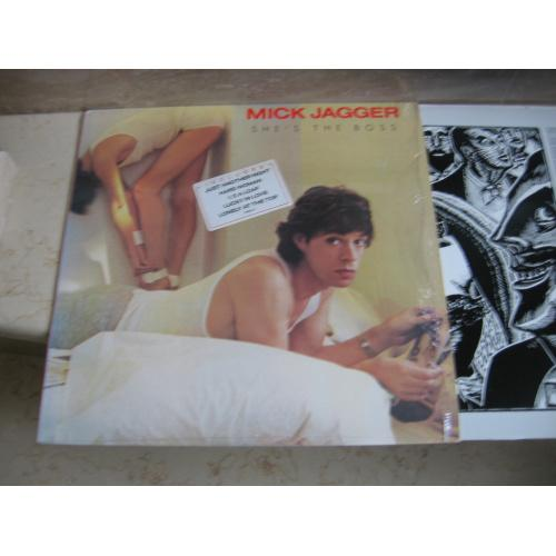 Mick Jagger ‎– She's The Boss (USA) LP