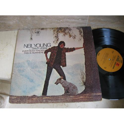 Neil Young & Crazy Horse – Everybody Knows This Is Nowhere ( USA RS 6349 ) LP