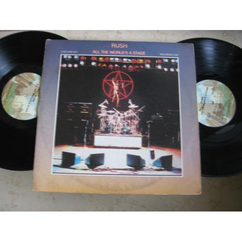 Rush – All The World's A Stage (2xLP)   ( USA )LP