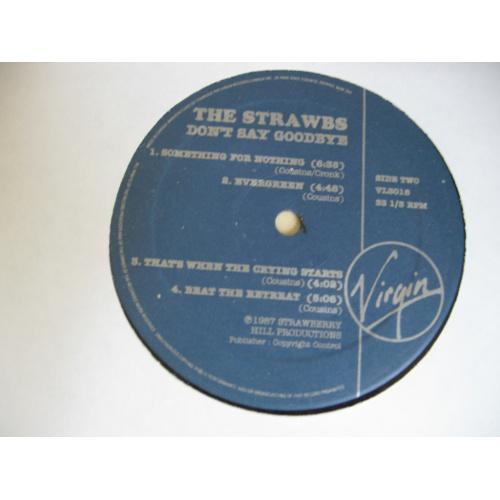 Strawbs – Don't Say Goodbye...  (Canada)LP