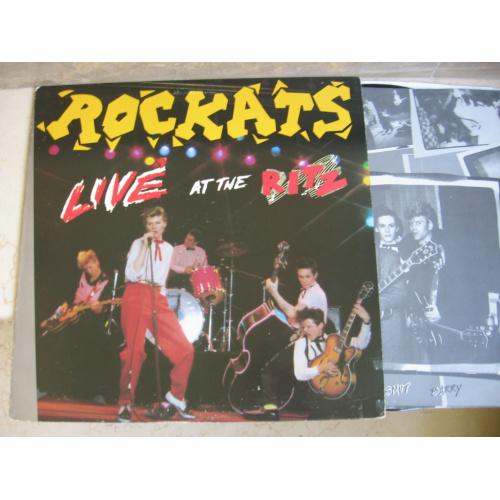 The Rockats ‎– Live At The Ritz (USA ) Rockabilly LP
