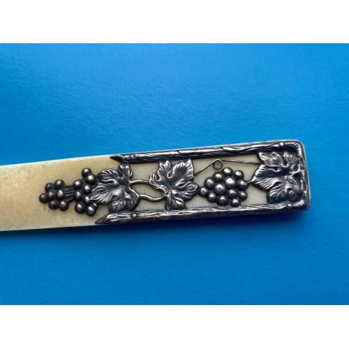 Нож для писем серебро