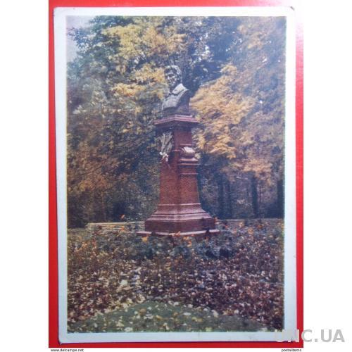 10373 Трускавец. Украина. Памятник Адаму Мицкевичу