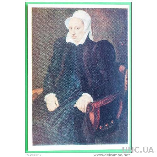 108 Женский портрет Адриана Томаса