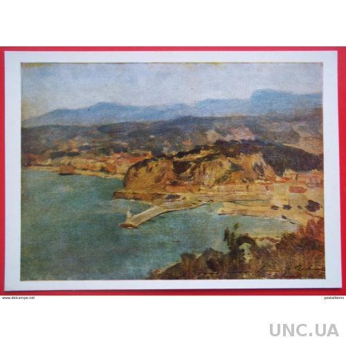 10807 И.Левитан. Озеро Ломо. Италия