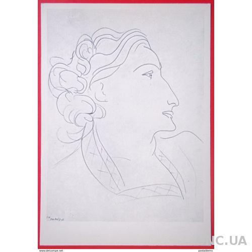 10817 Анри Матисс. Портрет женщины