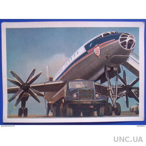 11097 Гидравлический турбореактивный гигант TU-114