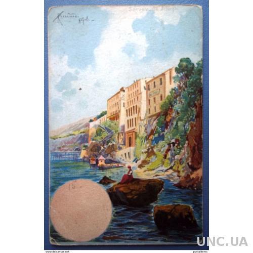 11618 Италия. Иллюстратор Ricciardi Napoli. CPA