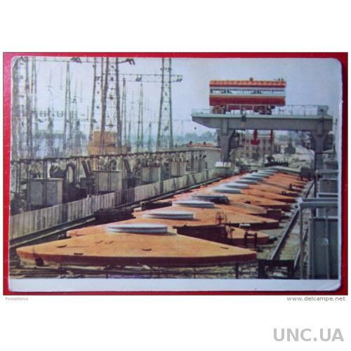5153 Гидроэлектростанции. Кременчуг. Украина. Река Днепр