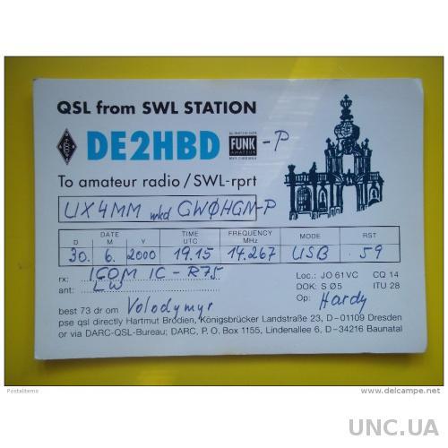 6020 QSL Германия