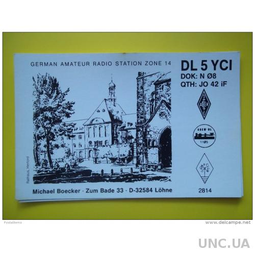 6030 QSL Германия