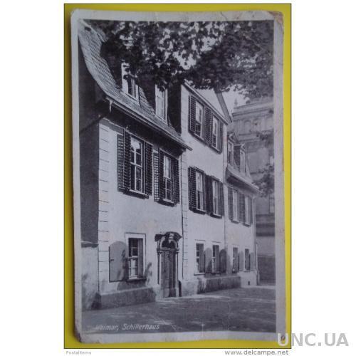 7008 Веймар - город в федеральном штате Тюрингия, Германия. Schillerhaus