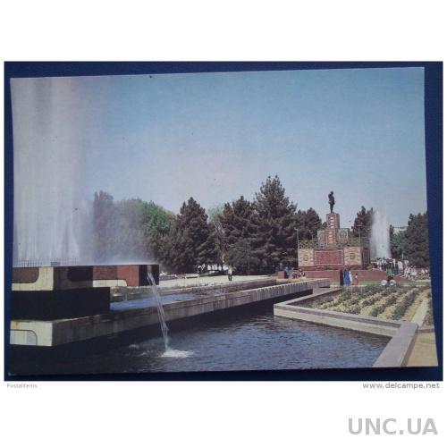 7064 Ашхабад. Туркменистан. Памятник В. И. Ленину