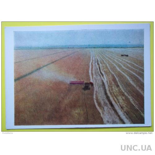 7501 Россия. Алтай. Уборка урожая