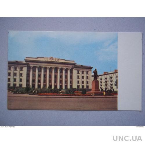 7953 Украина. Житомир. Площадь Ленина. Памятник Ленину