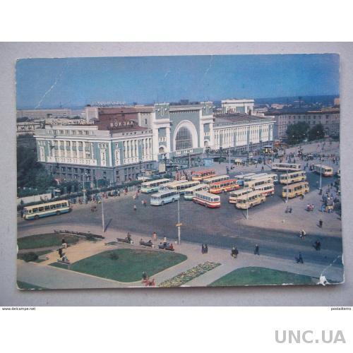 8033 Новосибирск. Железнодорожная станция