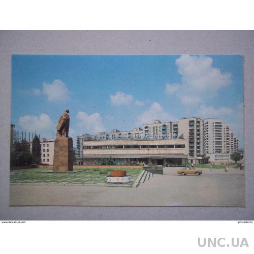 8061 Краснодон. Памятник Ленину