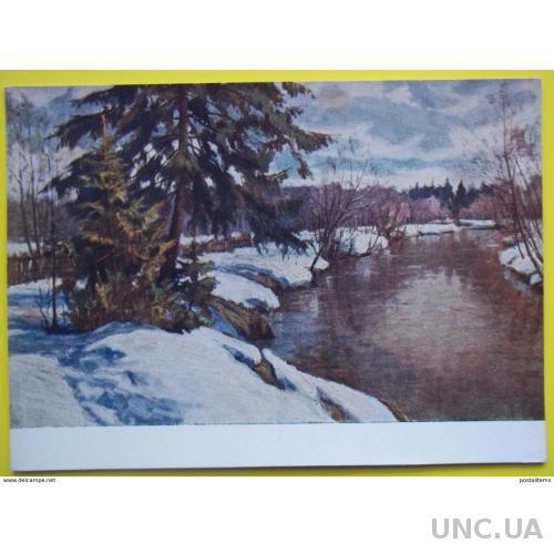 8153 М. Орлов. Ранняя весна на реке Воря