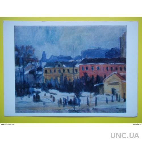8186 А. Лентулов. Уголок старой Москвы