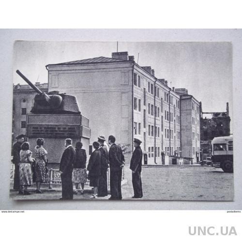 8257 Сталинград. Россия. В «доме Павлова»