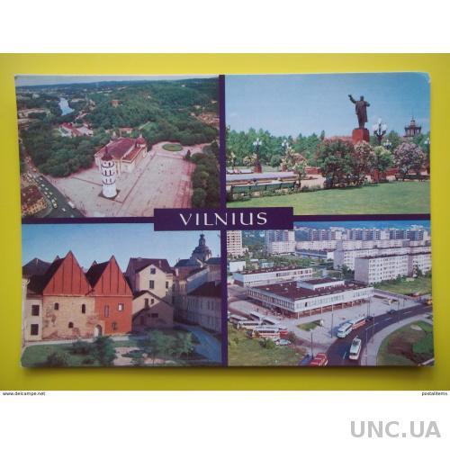9209 Вильнюс. Литва. Памятник Ленину