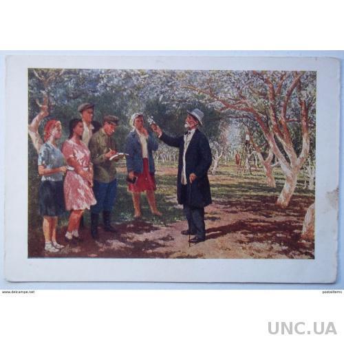 9444 Бирштейн М. Колхозная молодежь с И. Мичуриным