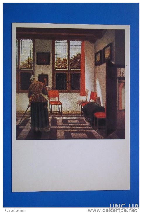 946 Россия СССР Комната в голландском доме. Питер Янссенс