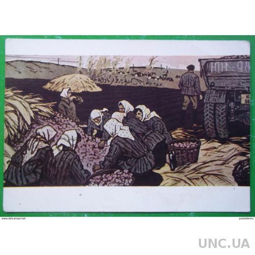 9486 Б. Аверьянов. Колхозные рабочие дни