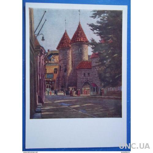 9496 Ф. Богородский. Башня Виру в Таллинне